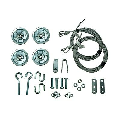 Garage Door Extension Spring Pulley Sheave Kit Safety