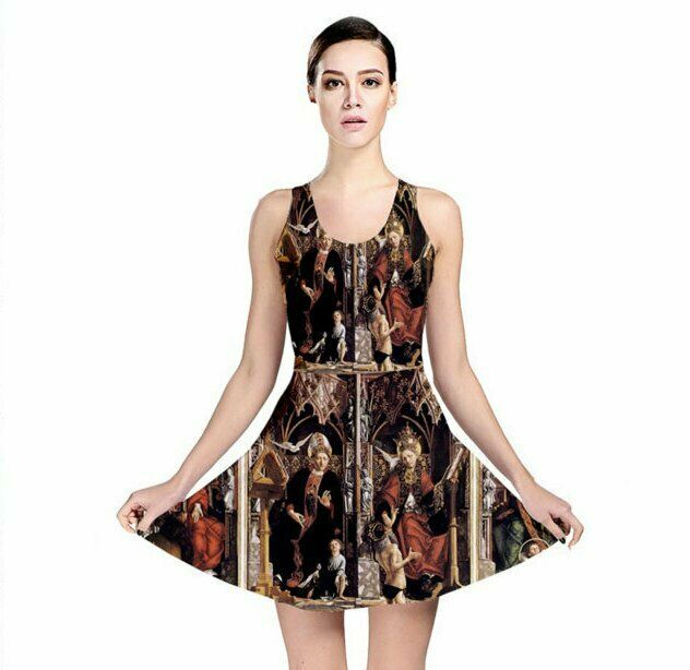 Holy Trinity Dress Renaissance Medieval Middle Ages Gothic Occult 1400s Art