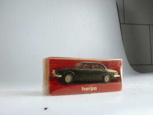 artículo nuevo//en el embalaje original 1:87 Herpa jaguar xj12 negro