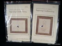 Beginning Candlewicking Kit Pineapple & Snowflake By Cross-stitch Inc (set Of 2)