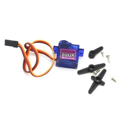 SG92R Micro Servo Motor 9g  6V 2.5kg//cm JR//Futaba  RC-Modellbau DIY-Elektronik