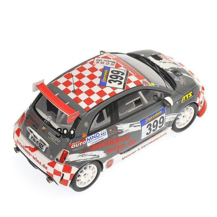 FIAT 500 ABARTH WINZ  2010      MINICHAMPS   1 43
