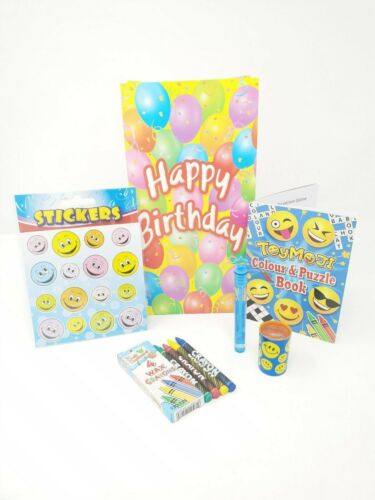 10X Pre filled Ready Made Party Bags Birthday Celebration Boys Girls Toys Unisex