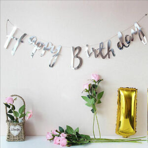 Foil-Happy-Birthday-Letter-Alphabet-Hanging-Banner-Bunting-Garland-Party-UK