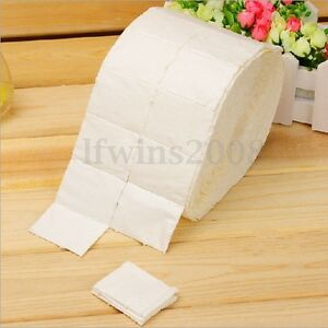 1000 Coton Papier Dissolvant Remover Uv Gel Vernis Ongle Semi
