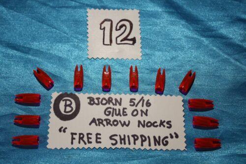 "BJORN-arrow nocks-5//16-glue on-/""SUPER PRICE/""-free shipping!*"