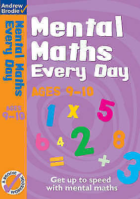 Mental Maths Every Day 9-10 by Brodie, Andrew (Paperback book, 2007)