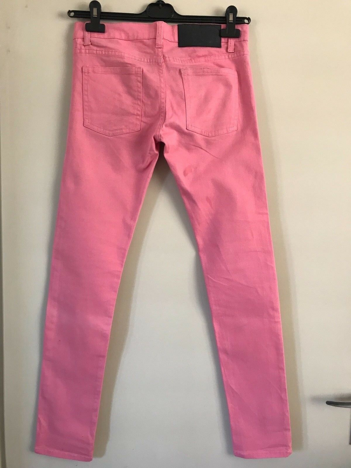 PANTALONE INDIE SKATE rosa rosa CHEAP MONDAY TAGLIA 29 29 29 32 STREET WEAR VAPORWAVE ef4d8b