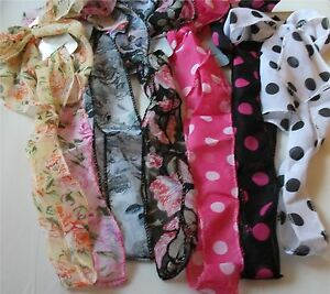 Ladies-Hair-Accessories-Bandeau-Hair-Tie-Headband-Hairband-Wrap-Scarf