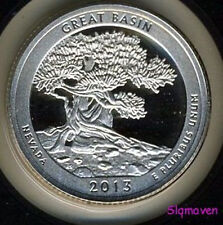 2013 S 90% Silver Great Basin-NV America the Beautiful Gem Proof No Reserve
