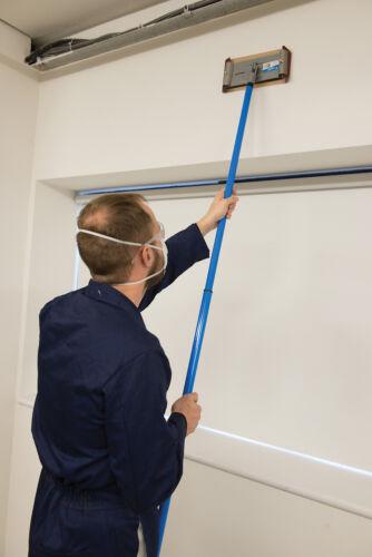 Swivel Pole Sander 235 X 80Mm Building Plastering Silverline 675341