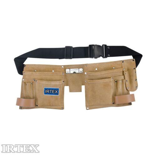 Werkzeuggürtel Handwerkergürtel Werkzeugtaschen Werkzeug Tasche Leder IRTEX
