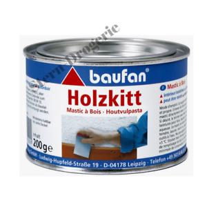 Baufan Holzkitt 200g naturfarben Kitt / Füllmasse Risse Löcher Fugen etc.