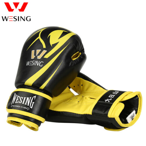 Wesing new boxing gloves kids 6OZ Junior Bag Mitts PU leather children
