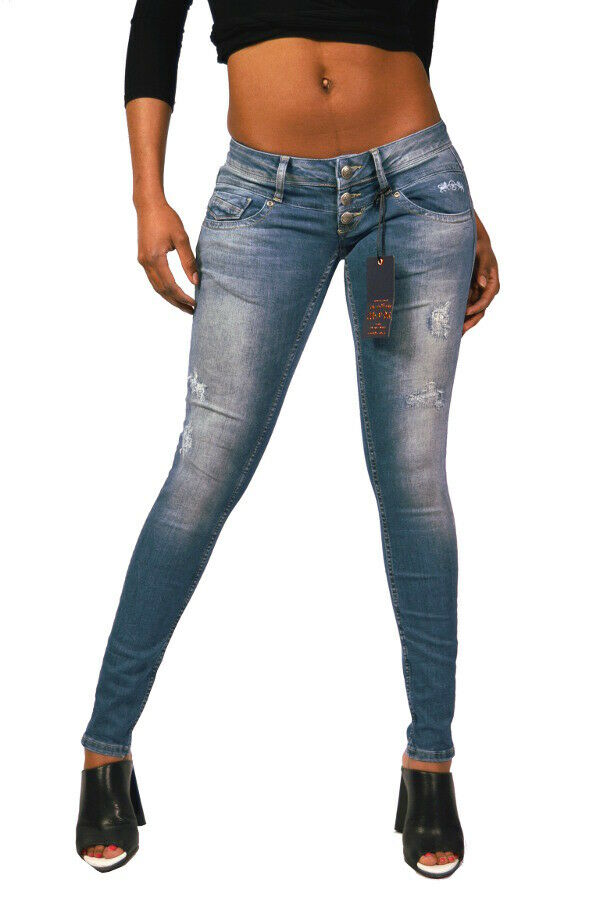 Lost in Paradise CELINA Superslim destroyed Extra Low Super Skinny 28 29 30 31