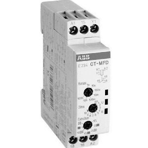 d937fbdf71a Image is loading ABB-MULTIFUNCTIONAL-TIMER-RELAY-CTMFD-6A-Switching-Current-