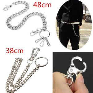 Men-Bullet-Wallet-Chains-Biker-Trucker-Punk-Rock-Simple-Jean-Hip-Hop-Key-Chain