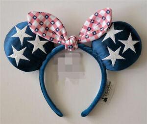 Minnie Ears Disney Parks Holiday Gift Rare Sequins Iridescent Glitter Headband