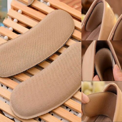 5pairs Sponge Sticky Fabric Shoe Pad Cushion Liner Grip Back Heel Inserts Insole