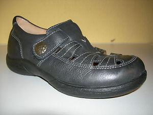 JOMOS AIR Comfort Damen Schuhe Klett Sandalen Leder Germany Gr.36 Neuw
