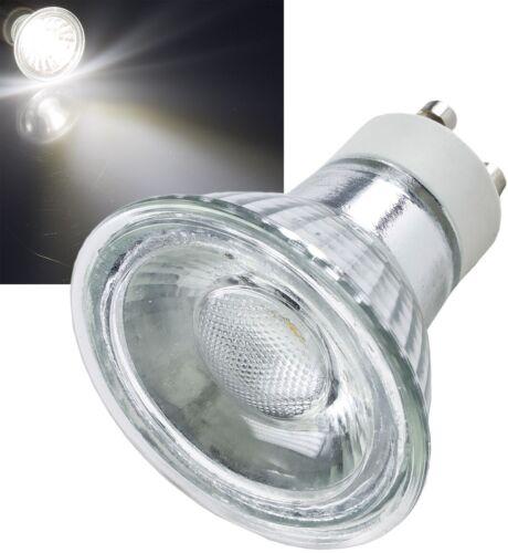 5W LED Einbaustrahler Einbauspot Gebürstet Rund schwenkbar 12V GU5.3 u 230V GU10
