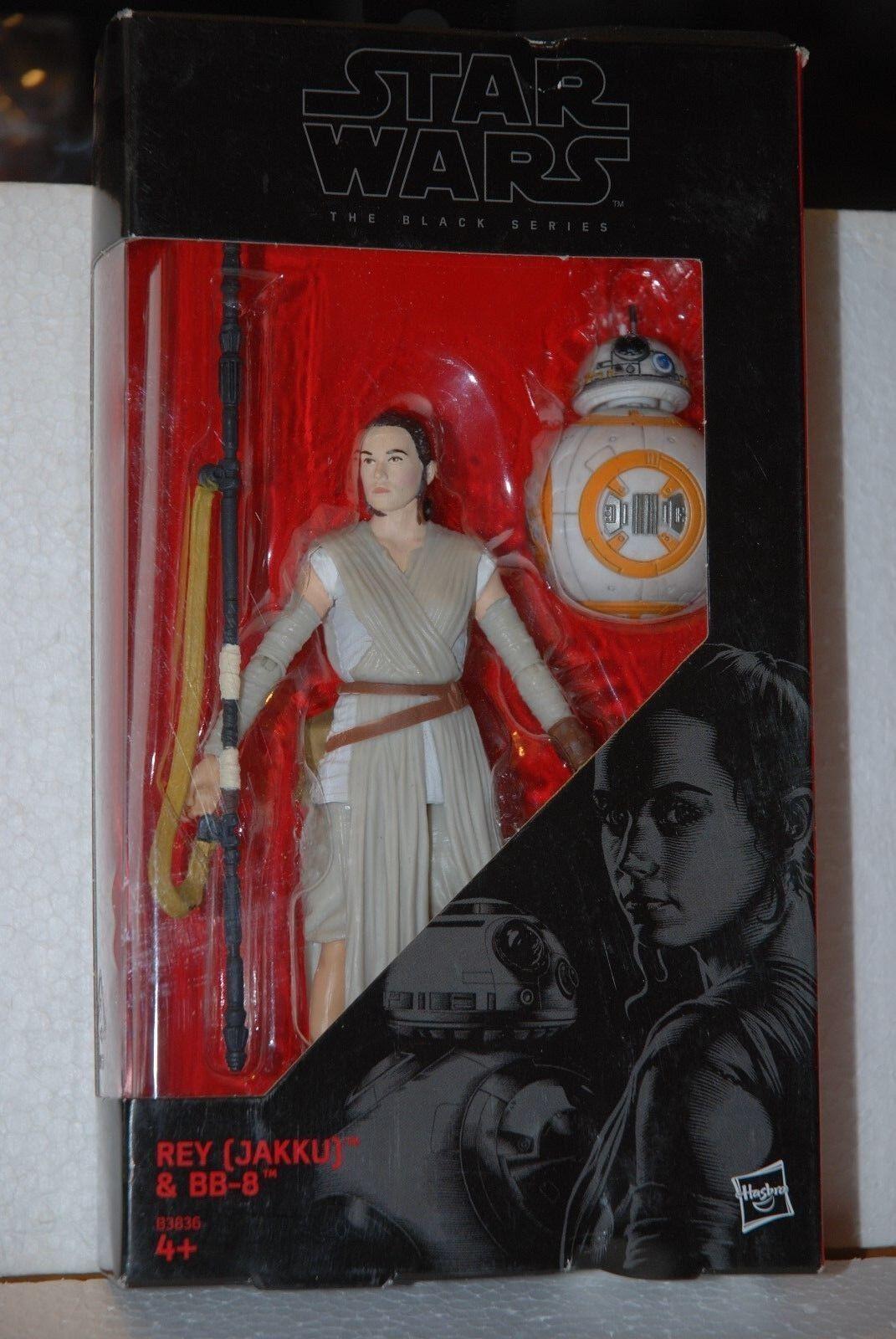 Star Wars 3D Serie Edicola Personaggio REY + BB-8