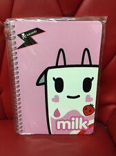 Tokidoki Moofia Spiral Notebook: Strawberry Milk (TK1)