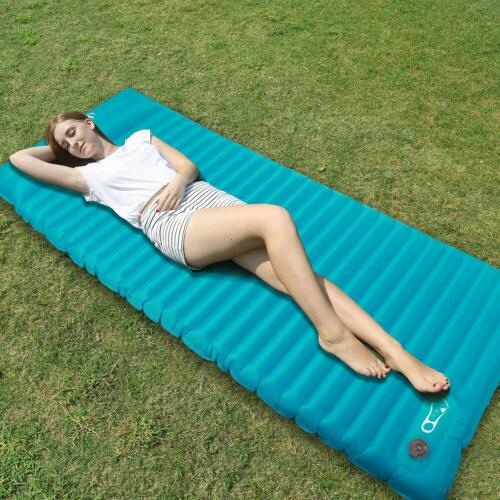 REDCAMP TPU Ultralight Inflatable Camping Sleeping Pad with Pillow Air Mattress