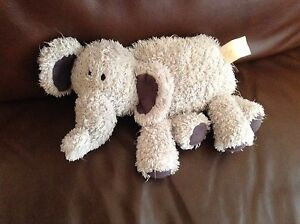80fcf704194 Jelly baby Jellybaby Cat Grey Silver Chime Rattle Elephant Baby Soft ...
