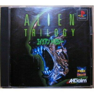 USED-PS1-PS-PlayStation-1-Alien-Trilogy-21181-JAPAN-IMPORT