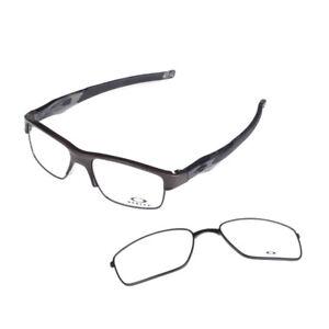 76bef00c859a9 Image is loading Eyeglass-Frames-Oakley-CROSSLINK-SWITCH-OX3128-0255-Pewter-
