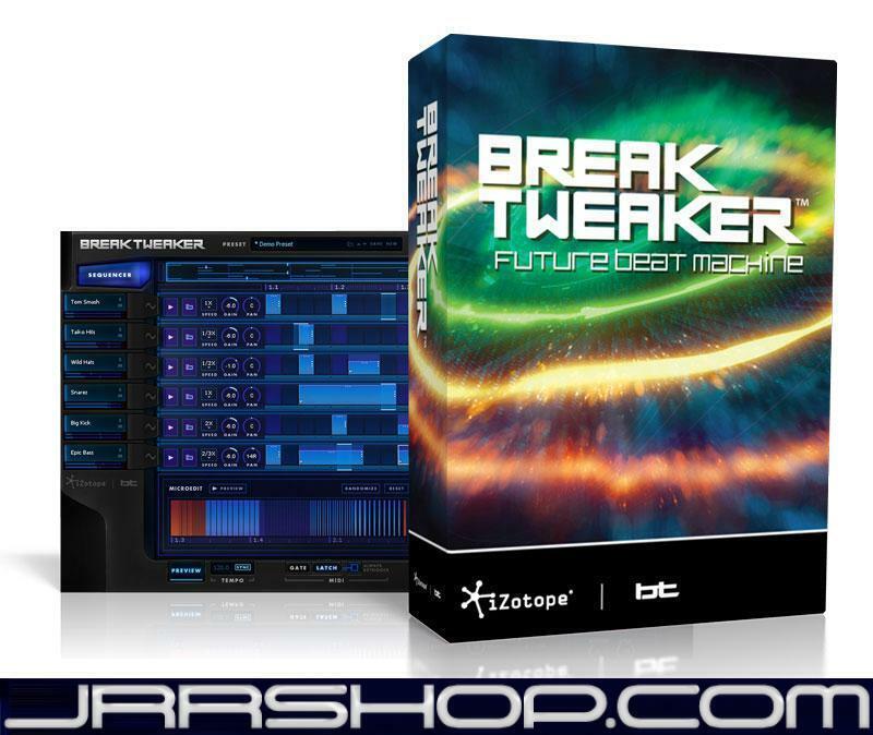 Izotope BreakTweaker Expanded eDelivery JRR Shop