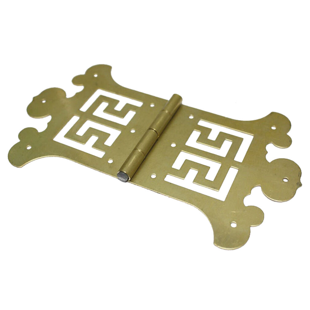 10 pcs Brass 142mm x 84mm Furniture Box Cabinet Butterfly Decor Hinges HG-1140