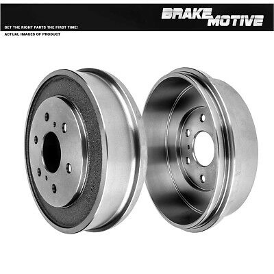 Rear Brake Drum /& Shoes For 2005 2006 2007 2008 Chevy Silverado 1500 Sierra 1500