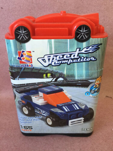 Speed Champion Mini Building Block Car 52 pcs Jilebao 9662