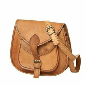 Real-Genuine-heavy-Leather-Vintage-Messenger-ladies-Shoulder-Hippie-Girl-Bag