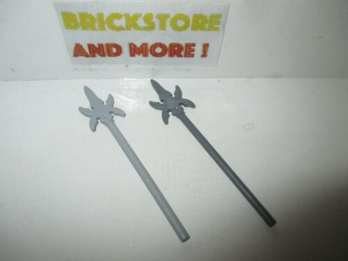 Minifigure Weapon Pike with 4 Side Blades 43899 Lego Choose Color /& Quantity