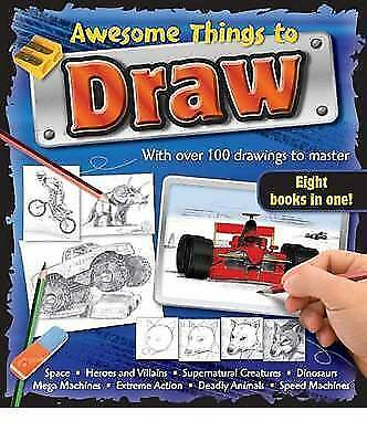Awesome Things to Draw Bind-Up (Binder), , Excellent Book