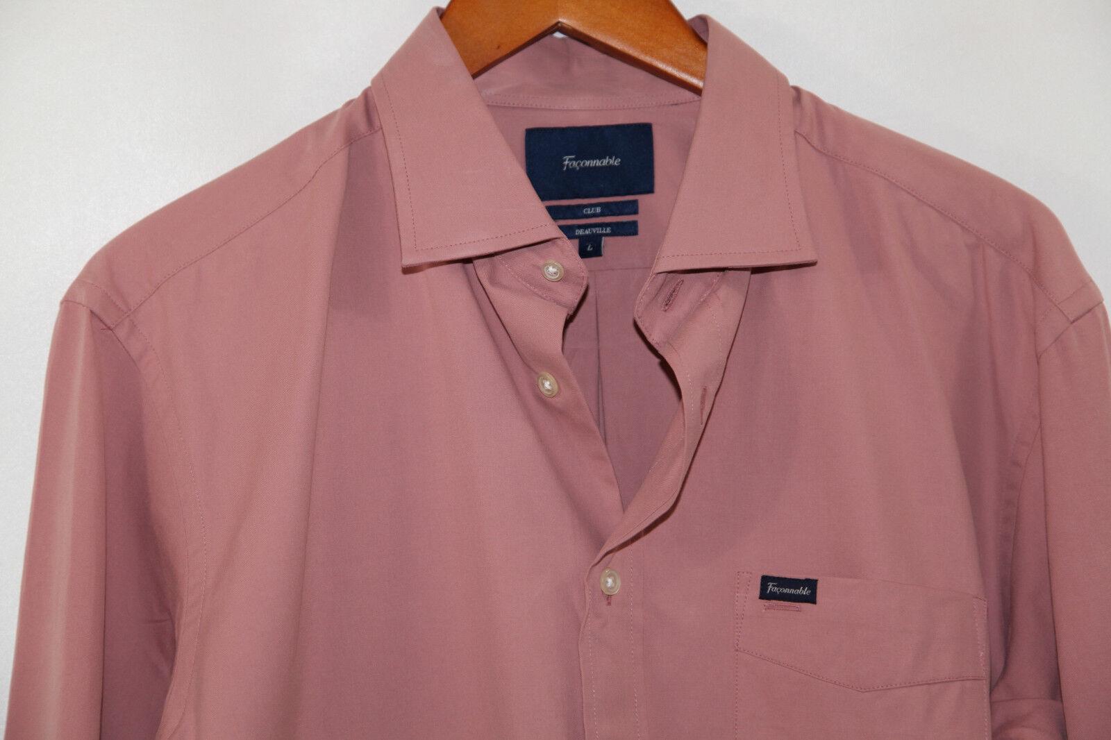 Faconnable Club Deauville  Shirt Size L