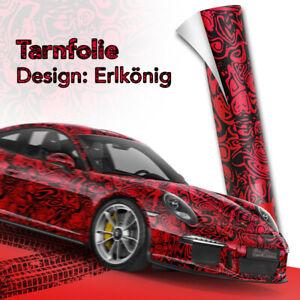 Erlkoenig-Rot-Prototypen-car-wrapping-Tarn-Folie-blasenfreie-Fahrzeug-folierung