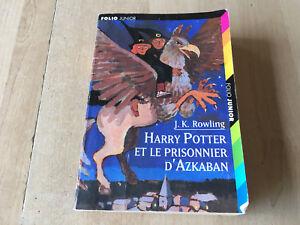 Details Sur Livre Harry Potter Et Le Prisonnier D Azkaban Folio Junior Edition Poche Rare