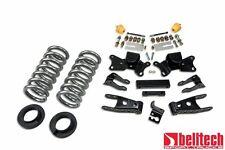 Belltech 97-00 Silverado C3500/C2500 2/4 Drop Lowering Kit 718