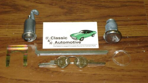 Lock Set Trunk Glove Box 7pc Kit Camaro Firebird *In Stock* OE style key locks