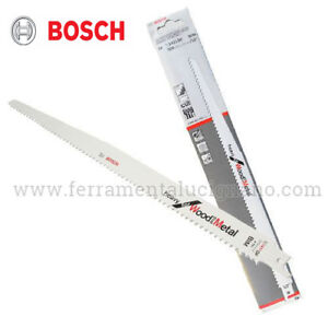 LAMA-LAME-ACCIAIO-INOX-BOSCH-S1411DF-SEGA-A-GATTUCCIO-PER-LEGNO-VETRORESINA-PVC