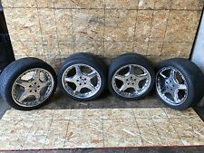 "MERCEDES W220 OEM AMG SET WHEEL WHEELS TIRE TIRES RIM RIMS STAGGERED 19 19"" INCH"