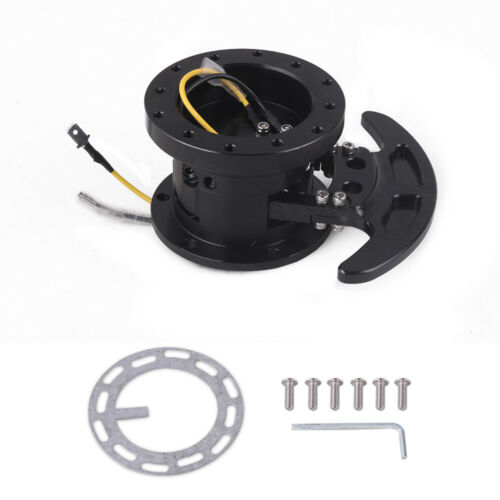 Steering Wheel Quick Release Hub Adapter Body Removable Snap Off Boss Kit Racing