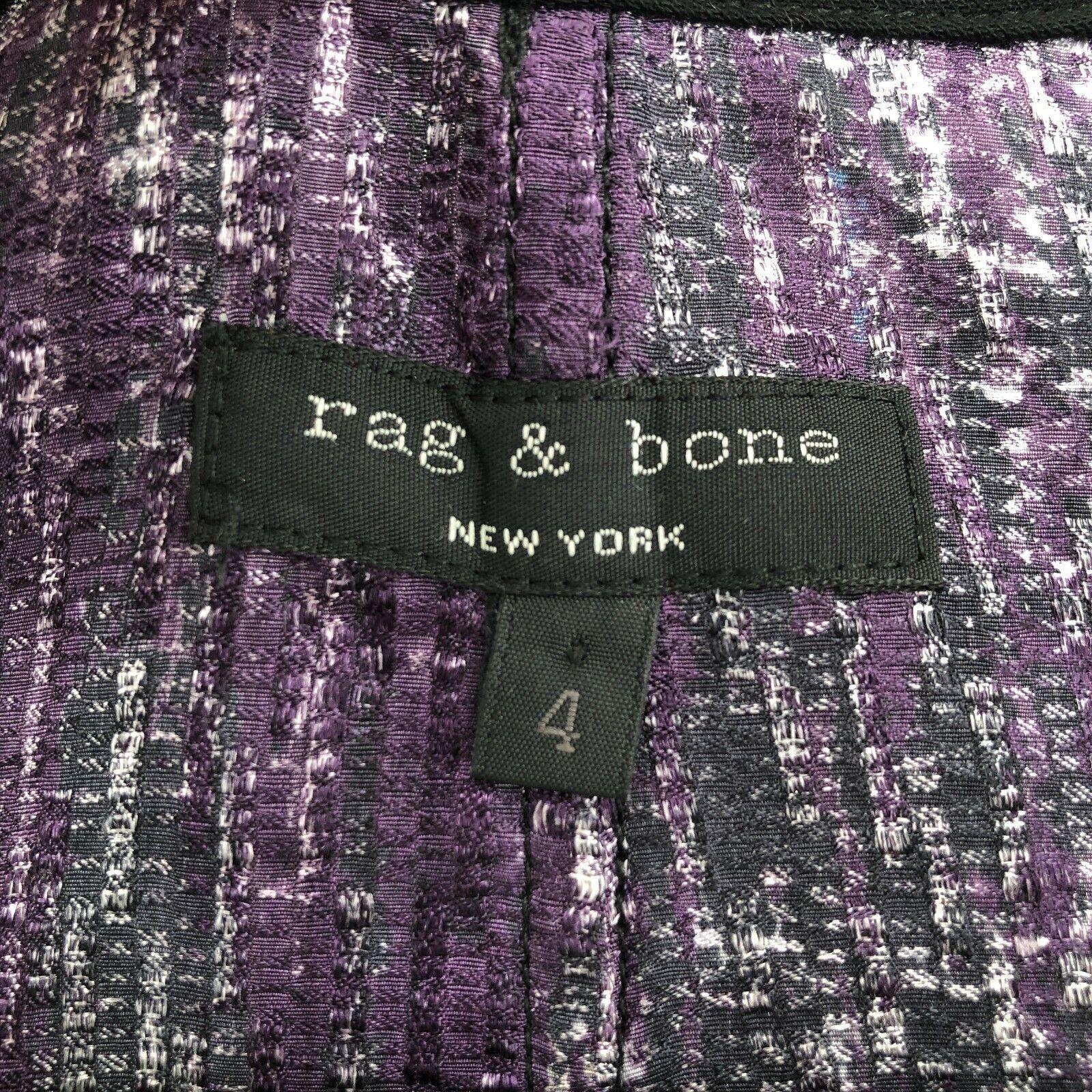 Rag and Bone Scoop Neck Button Behind Panel Sleev… - image 5