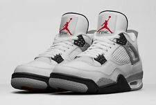 2016 Nike Air Jordan 4 IV Retro White Grey Cement Size 14. 840606-192 1 2 3 5 6