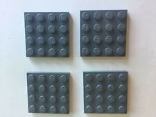 Lot x4 lego-special plate grey f//d grey plate 6185675-32802