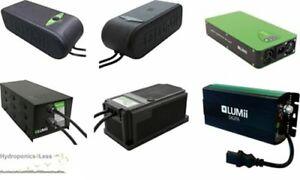 LUMii-250w-400w-600w-1000w-Quiet-Cool-Running-Ballast-Grow-Light-Hydroponics-HPS